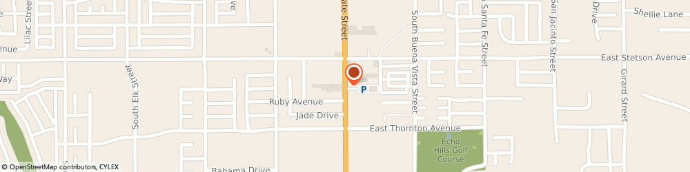 Route/map/directions to a French Quarter Salon - Harbour Don, 92543 Hemet, 1165 SOUTH STATE STREET
