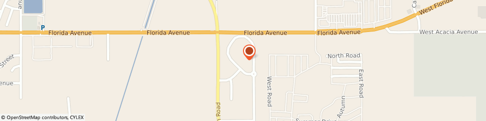 Route/map/directions to Inland Chevrolet, 92545 Hemet, 400 Carriage Circle
