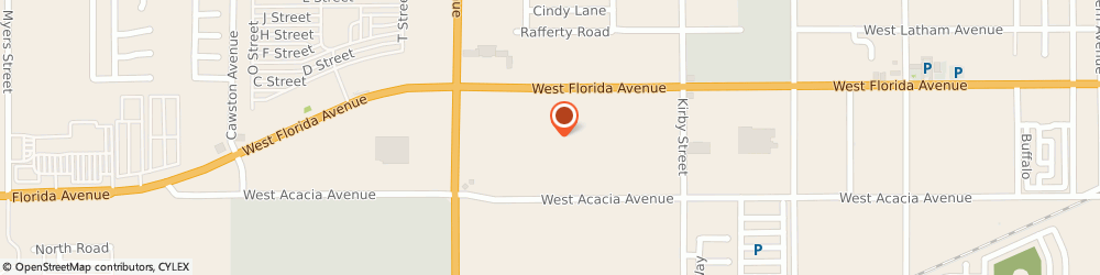 Route/map/directions to Sally Beauty Supply, 92545 Hemet, 2987 W Florida Ave