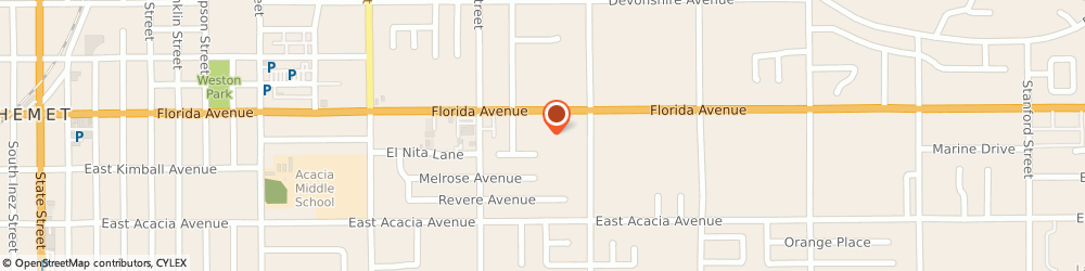 Route/map/directions to Farmers Insurance - Shauna Bell, 92544 Hemet, 1963 E Florida Ave