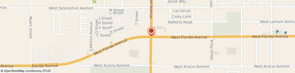 Route/map/directions to The Brow Studio, 92545 Hemet, 3217 W Florida Ave