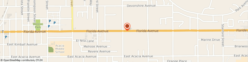 Route/map/directions to Family Dollar Store, 92544 Hemet, 2249 E. FLORIDA AVENUE