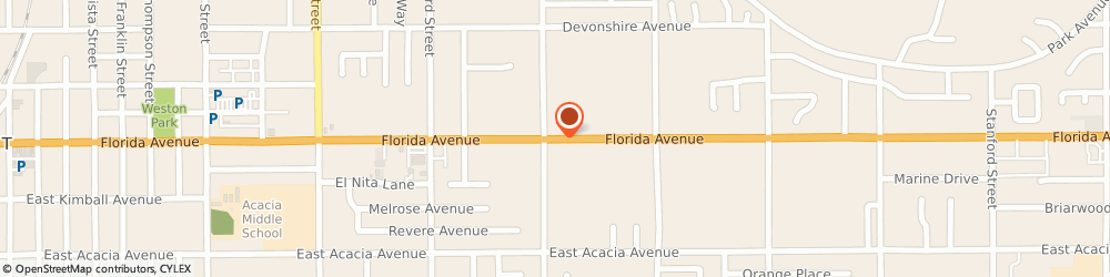 Route/map/directions to a-1 Barber Shop, 92544 Hemet, 2120 EAST FLORIDA AVENUE
