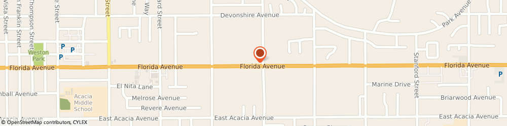 Route/map/directions to Rehman Insurance, 92544 Hemet, 2440 E Florida Ave.