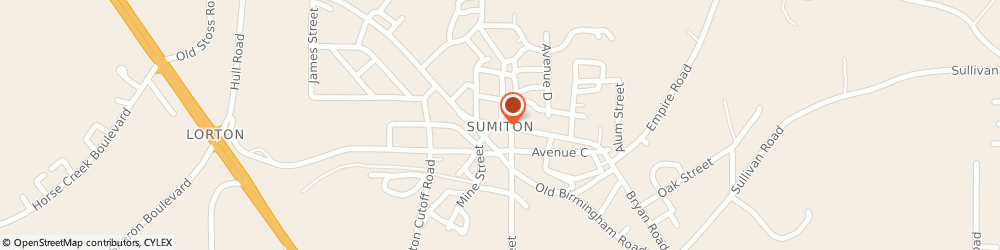 Route/map/directions to Safeco Insurance Agent, 35148-4824 Sumiton, 1125 Main St