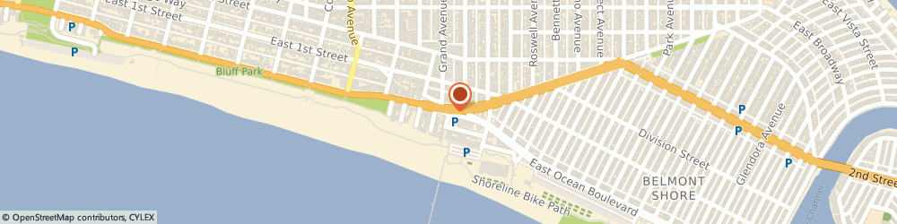 Route/map/directions to Gypsy's Mediterranean Grill, 90803 Long Beach, 21 39TH PL