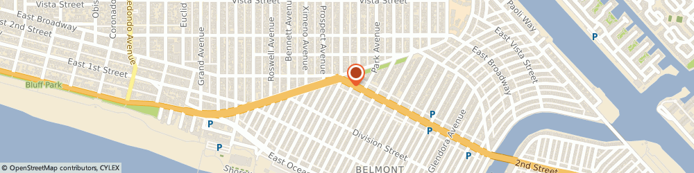 Route/map/directions to Buffalo Exchange, 90803 Long Beach, 4608 E 2nd St