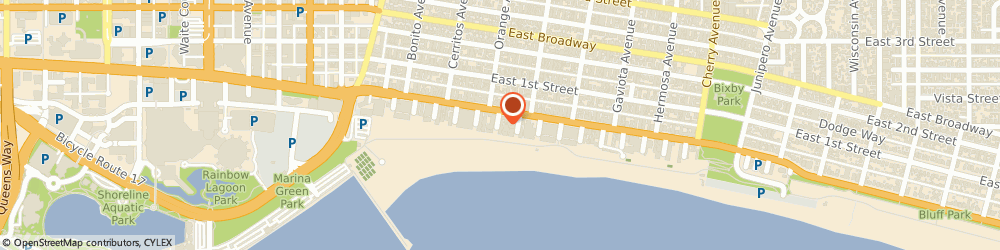 Route/map/directions to Medco Medical Supplies, 90802 Long Beach, 24 6Th Pl # 702