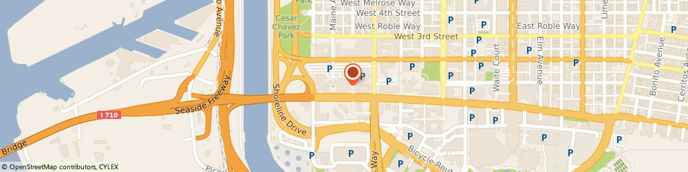 Route/map/directions to Jersey Mike's, 90831 Long Beach, One World Trade Center Suite 110