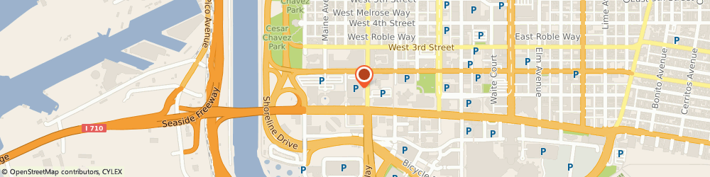 Route/map/directions to SP+ Parking, 90802 Long Beach, 101 Magnolia Street