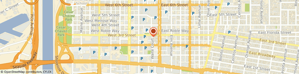 Route/map/directions to Michael's Downtown, 90802 Long Beach, 210 E 3rd Street