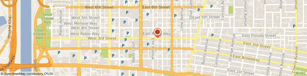 Route/map/directions to Aat-Western Union, 90802 Long Beach, 402 EAST 3RD STREET