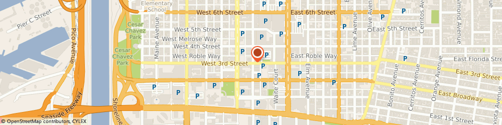 Route/map/directions to Air Conditioning Repair Long Beach CA, 90802 Long Beach, 105 West 3rd Street
