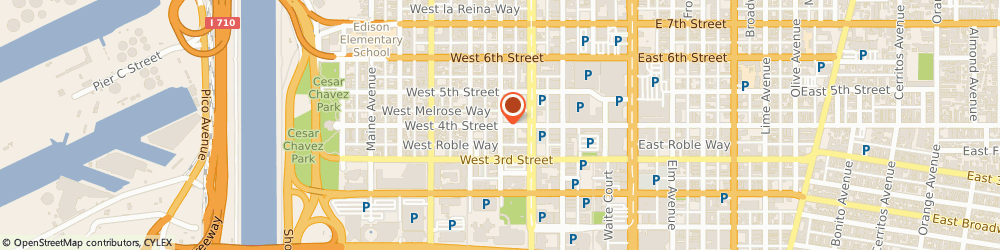 Route/map/directions to Gestalt Group Escrow, Inc., 90802 Long Beach, 111 W. 4th Street