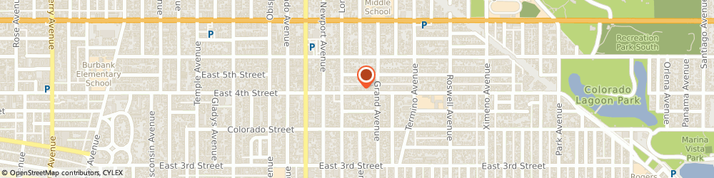 Route/map/directions to Farmers Insurance - Daniel Paladin, 90814 Long Beach, 3645 E 4th St