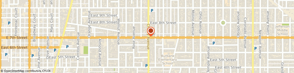 Route/map/directions to Ampwerx Repair, 90813 Long Beach, 1935 E 7TH ST
