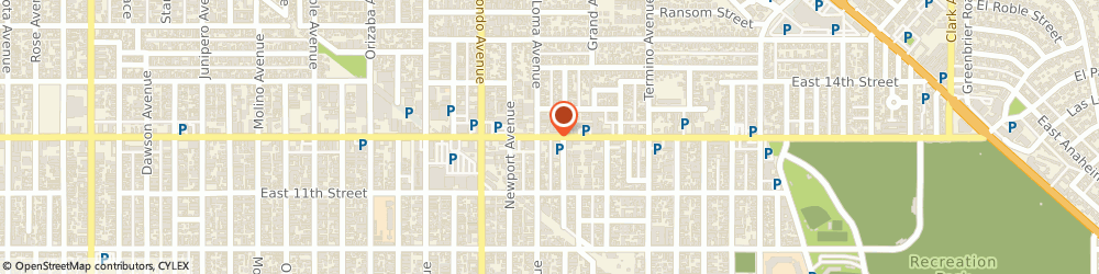 Route/map/directions to Tom's Automotive Service Center, 90804 Long Beach, 4401 East Anaheim Street