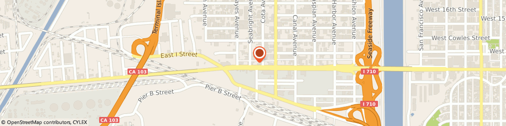 Route/map/directions to b & b Supply Co., 90813 Long Beach, 1845 W. ANAHEIM ST.,