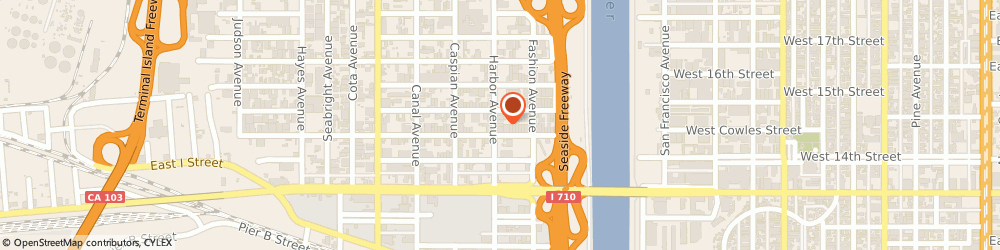 Route/map/directions to Field Technology, Inc., 90813 Long Beach, 1472 HARBOR AVE.,