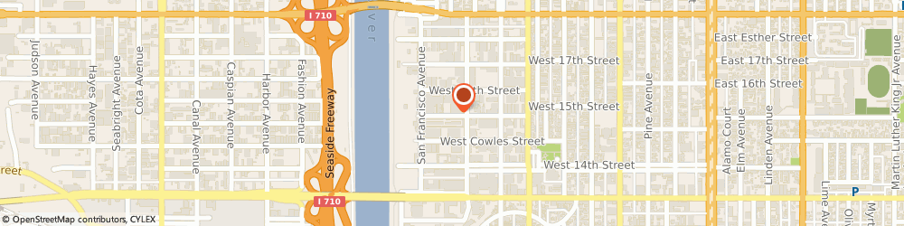 Route/map/directions to Super Aluminum Doors, 90813 Long Beach, 721 WEST 15TH STREET