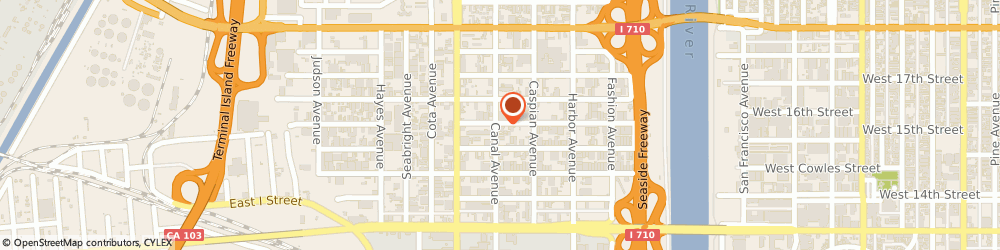 Route/map/directions to MBS Truck Repair, 90813 Long Beach, 1546 W Gaylord St