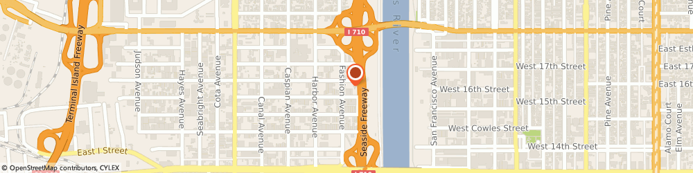 Route/map/directions to Magna Mechanical Specialties, 90813 Long Beach, 1570 FASHION AVE