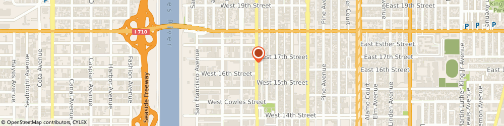 Route/map/directions to Conspec, 90813 Long Beach, 500 WEST 17TH STREET