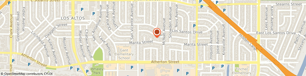 Route/map/directions to Williams Childcare, 90815 Long Beach, 1910 Senasac Ave