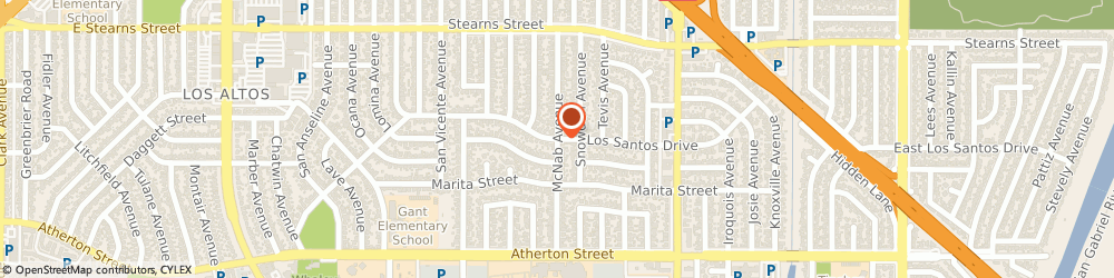 Route/map/directions to DKG Leather, 90815 Long Beach, 2235 McNab Avenue
