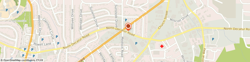 Route/map/directions to Servicemaster Clean, 30030 Decatur, STREET