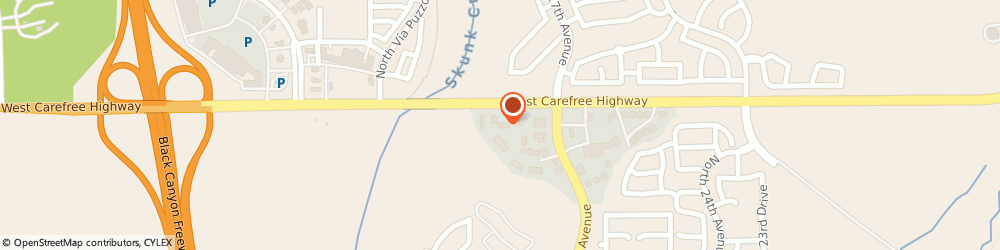 Route/map/directions to Forbes Morse, DDS - Morse Family Dental, 85085 Phoenix, 2805 W Carefree HWY
