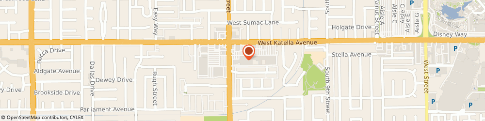 Route/map/directions to Big Lots, 92802 Anaheim, 1670 W Katella Ave
