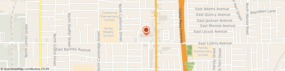Route/map/directions to Albertsons Pharmacy, 92867 Orange, 940 N Tustin Ave