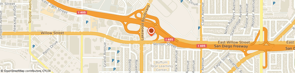 Route/map/directions to Holiday Inn Long Beach Airport, 90815 Long Beach, 2640 North Lakewood Boulevard