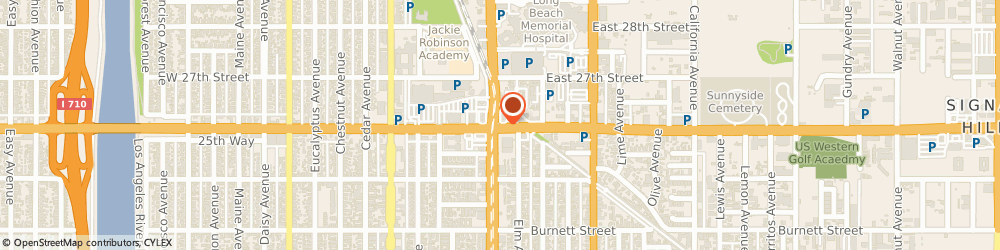 Route/map/directions to Cuc Nails, 90806 Long Beach, 321 EAST WILLOW STREET