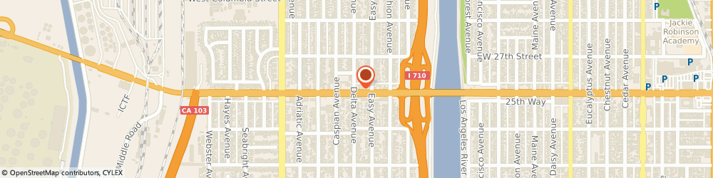 Route/map/directions to Davis Shoe Store & Repair, 90810 Long Beach, 1395 WEST WILLOW STREET