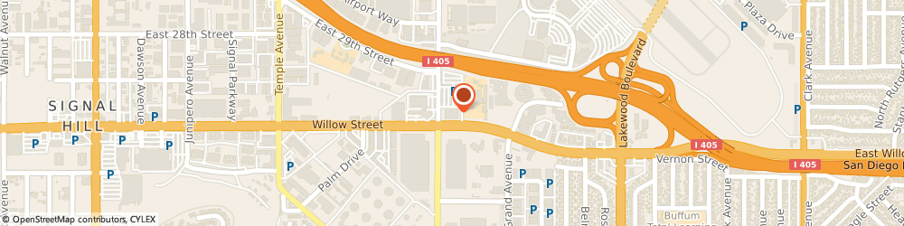 Route/map/directions to SP+ Parking, 90806 Long Beach, 2600 Redondo Avenue
