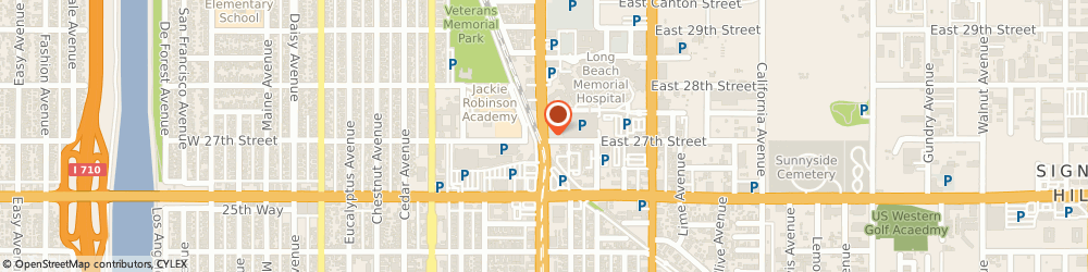 Route/map/directions to M and M Tires, 90806 Long Beach, 2160 Long Beach Boulevard
