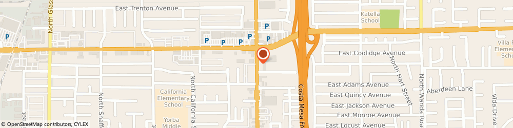 Route/map/directions to Orange Pawn Shop & Jewelry & Loan, 92867 Orange, 829 N Tustin St