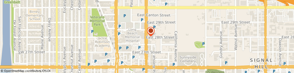 Route/map/directions to Beverly Hills Surgical Institute, 90806 Long Beach, 701 EAST 28TH STREET