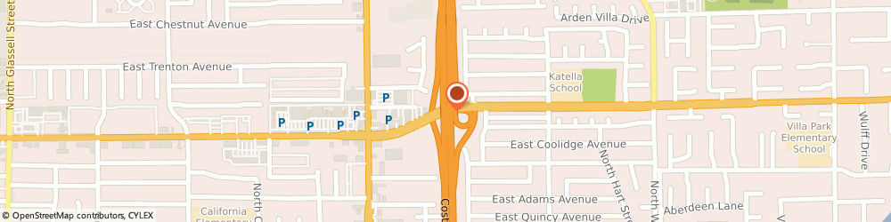 Route/map/directions to Dollar Rows, 92867 Orange, 1536 E Katella Ave