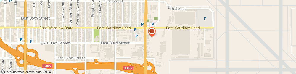 Route/map/directions to Enterprise Truck Rental, 90807 Long Beach, 3366 Cherry Ave