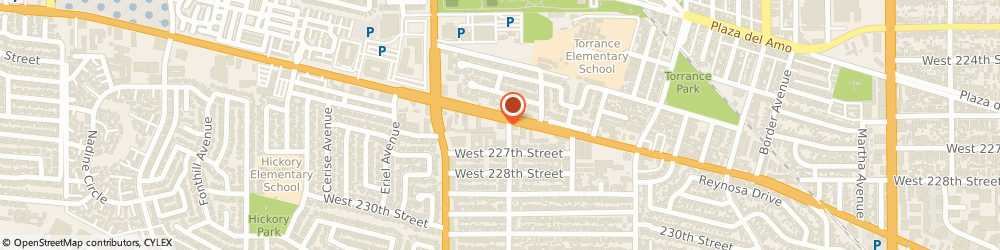 Route/map/directions to Wendy's, 90501 Torrance, 2404 Sepulveda Blvd