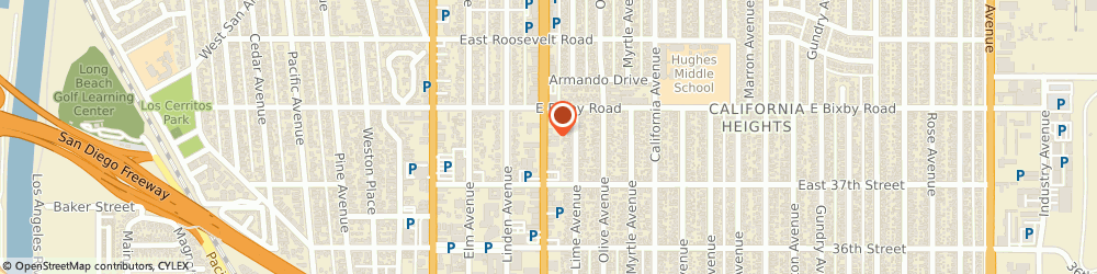 Route/map/directions to Great Officiants, 90807 Long Beach, 3740 Atlantic Ave Ste 201