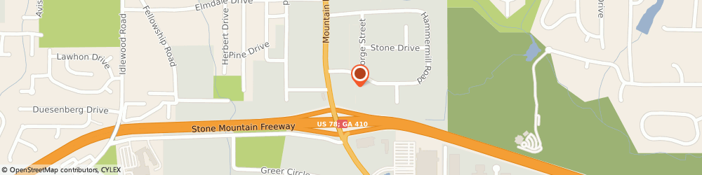 Route/map/directions to Super 8 TUCKER, 30084 Tucker, 1819 Mountain Industrial Blvd