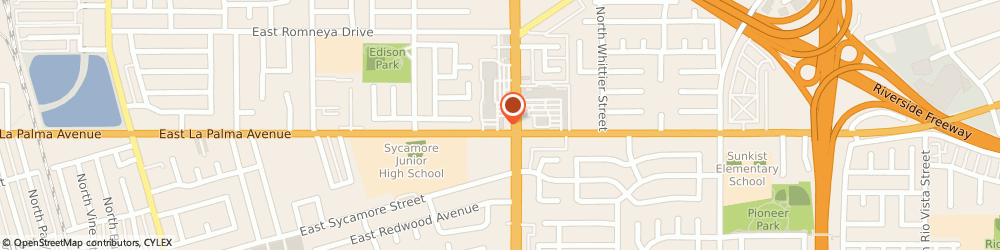 Route/map/directions to Liberty Tax Service, 92806 Anaheim, 1001 N State College Blvd