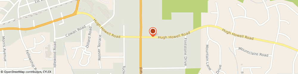 Route/map/directions to National Tire & Battery, 30084 Tucker, 4616 Hugh Howell Rd