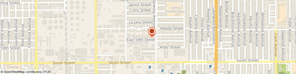 Route/map/directions to AJC Box, 90805 Long Beach, 3333 EAST 59TH STREET