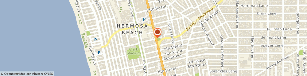 Route/map/directions to McDonald's, 90254 Hermosa Beach, 1107 Pacific Coast Hwy