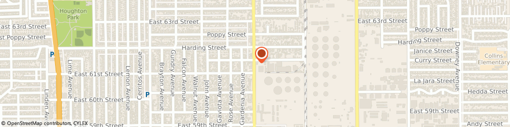 Route/map/directions to aA Radiator, 90805 Long Beach, 6128 CHERRY AVENUE